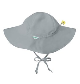 Brim Sun Protection Hat Gray