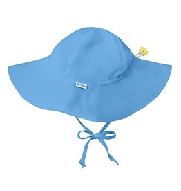 Brim Sun Protection Hat Light Blue