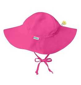 Brim Sun Protection Hat Hot Pink