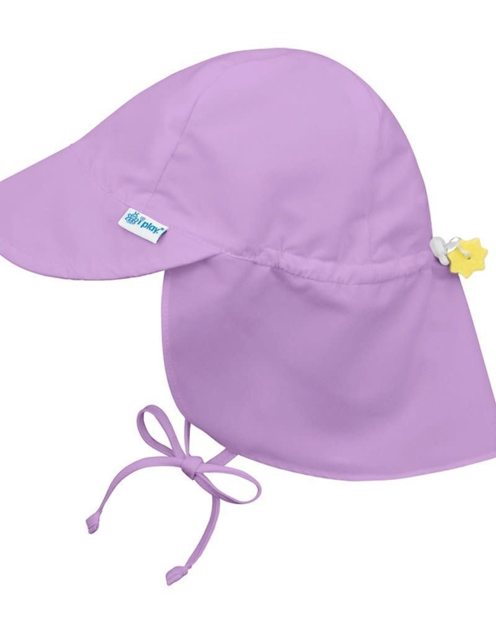 Flap Sun Protection Hat Lavender