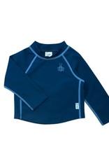 Longsleeve Sun Protection Rashguard Shirt Navy