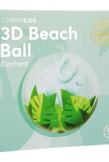 3D Beach Ball Elephant