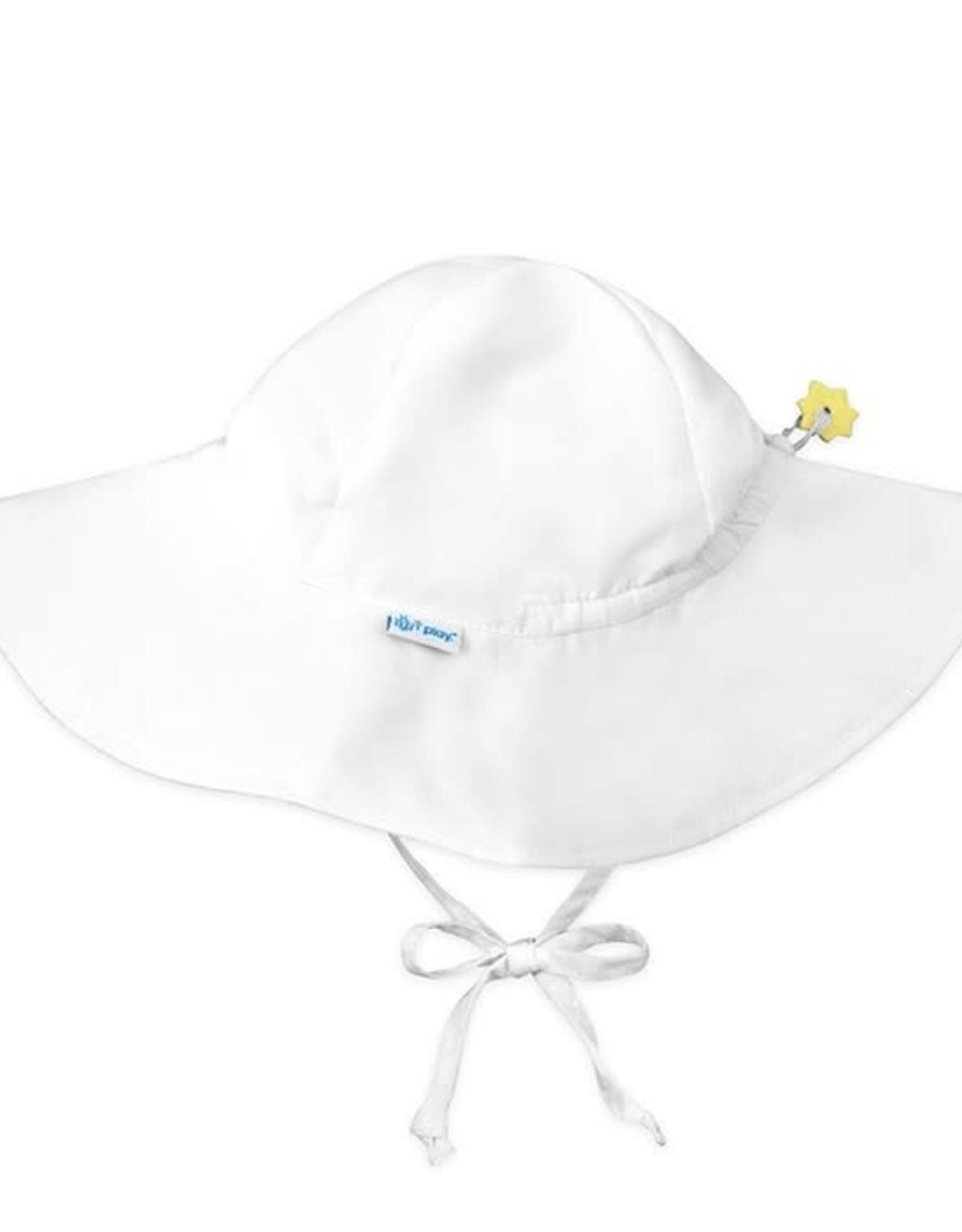 Brim Sun Protection Hat White
