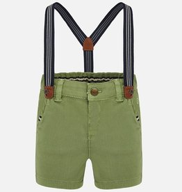 Mayoral Mini Selva Green Bermuda Shorts
