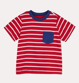 Hatley Red Stripes Baby Tee