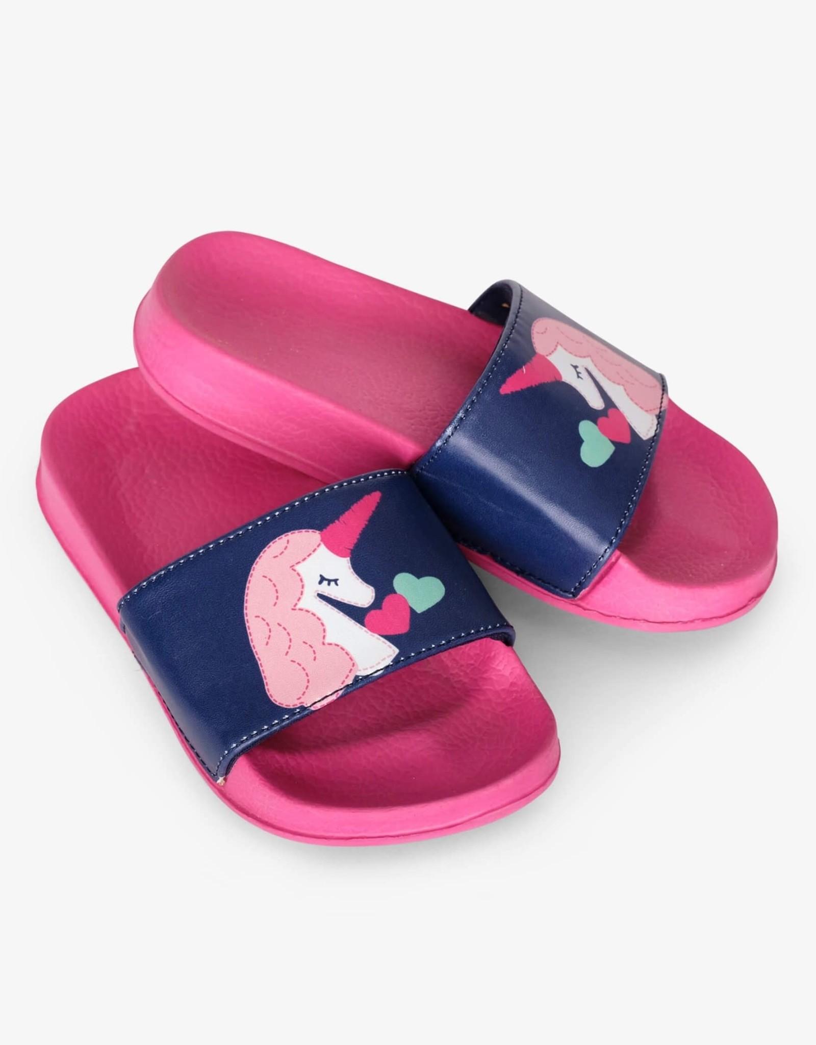 Hatley Mystical Unicorns Slide on Sandals