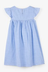Hatley Nautical Stripes Embroidered Dress