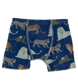 KicKee Pants Kickee Pants Single Boxer Brief Flag Blue Big Cats