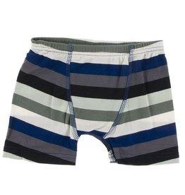 KicKee Pants Kickee Pants Single Boxer Brief Zoology Stripe