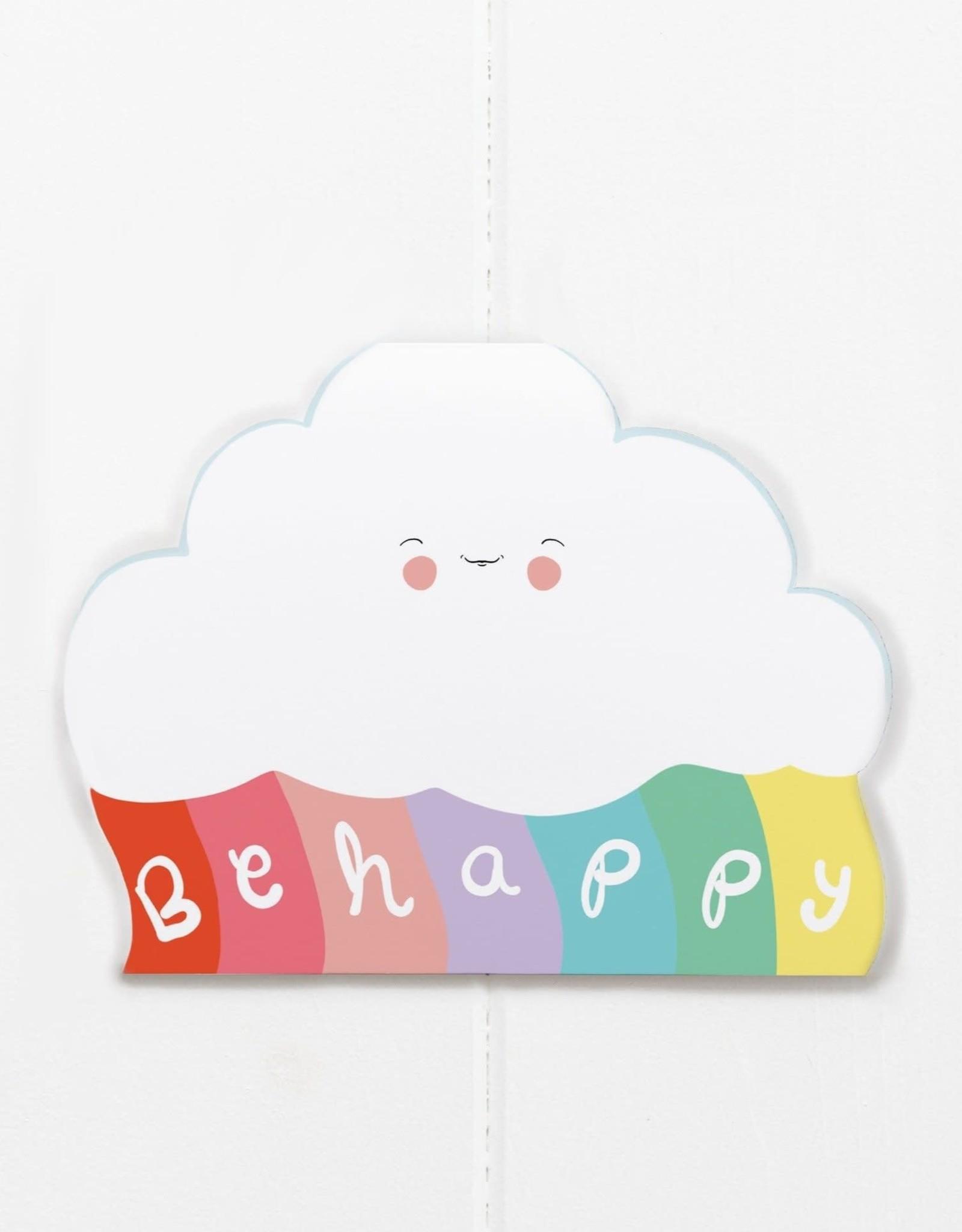 Be Happy Cloud Card