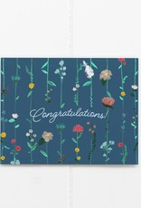 Congratulations Flower Card
