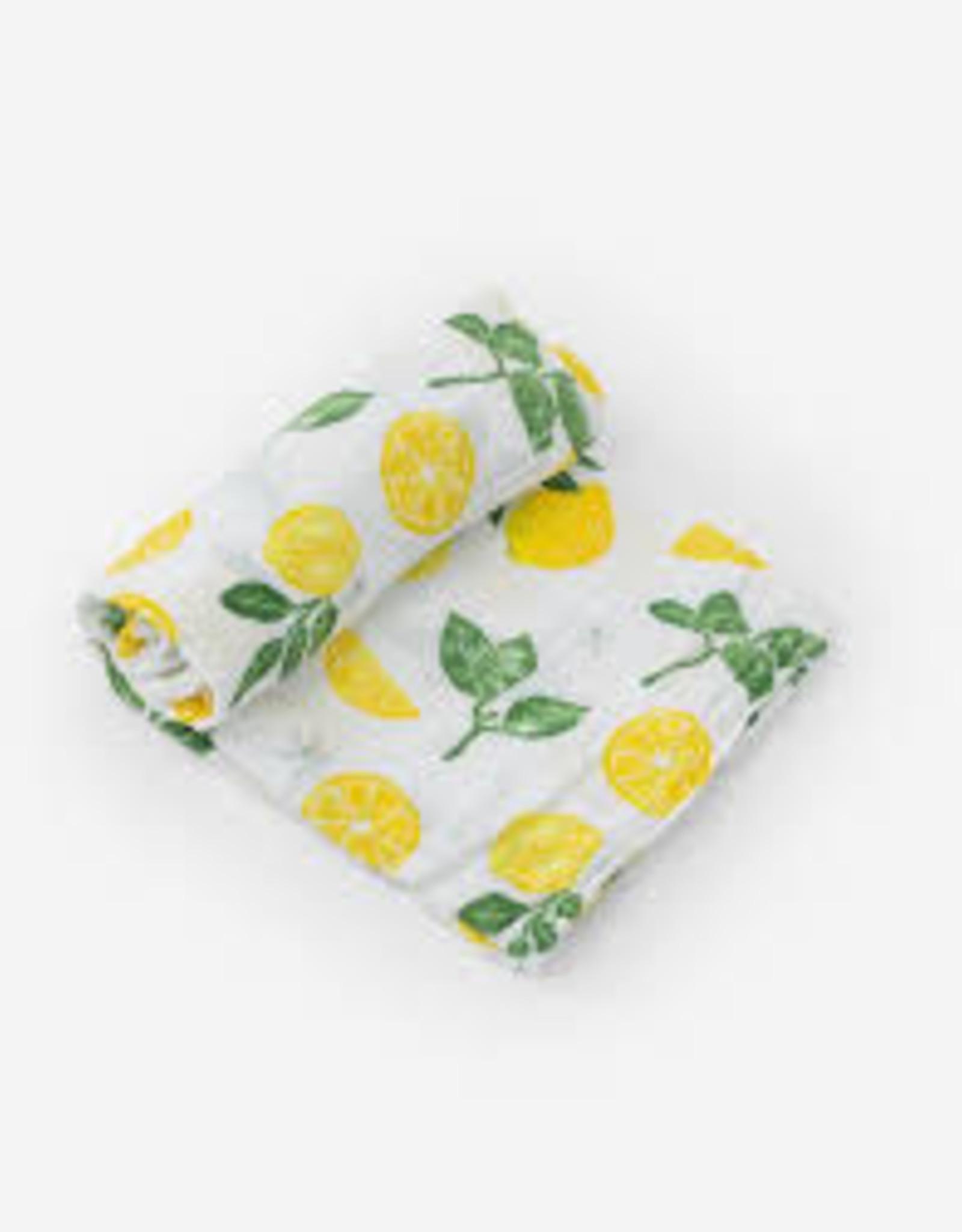 Little Unicorn Little Unicorn Single Swaddle - Lemon Drop