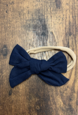 Linen Bigger Bow Headband
