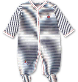 Kissy Windjammers Stripe Footie