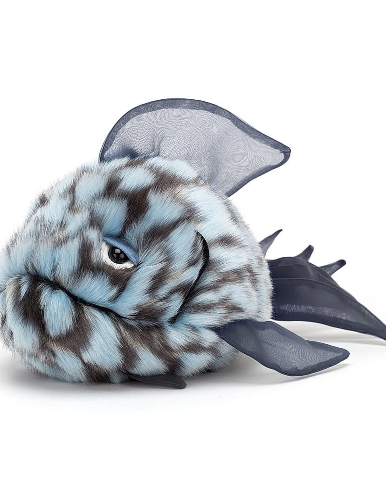 Jellycat Grumpy Fish Blue
