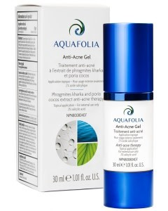 Aquafolia AQUAFOLIA Anti-Acné Gel Aquafolia (30ml)