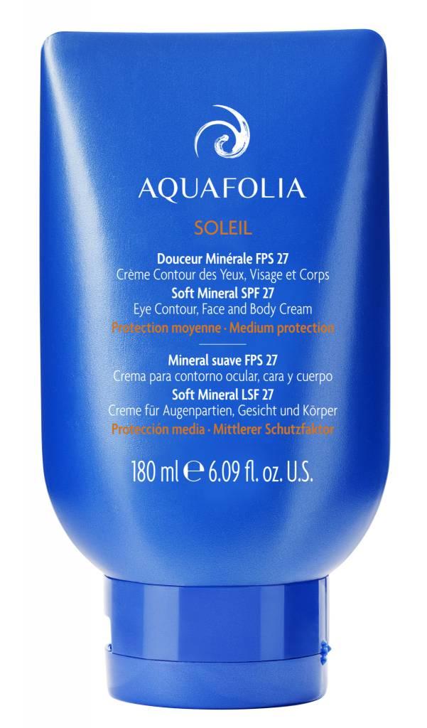 Aquafolia AQUAFOLIA  Aqua Soleil Douceur Minérale FPS 27 AquaFolia (180ml)