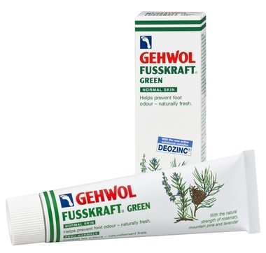 Gehwol GEHWOL: Fusskrafft VERT peau normale combat les  - naturellement frais