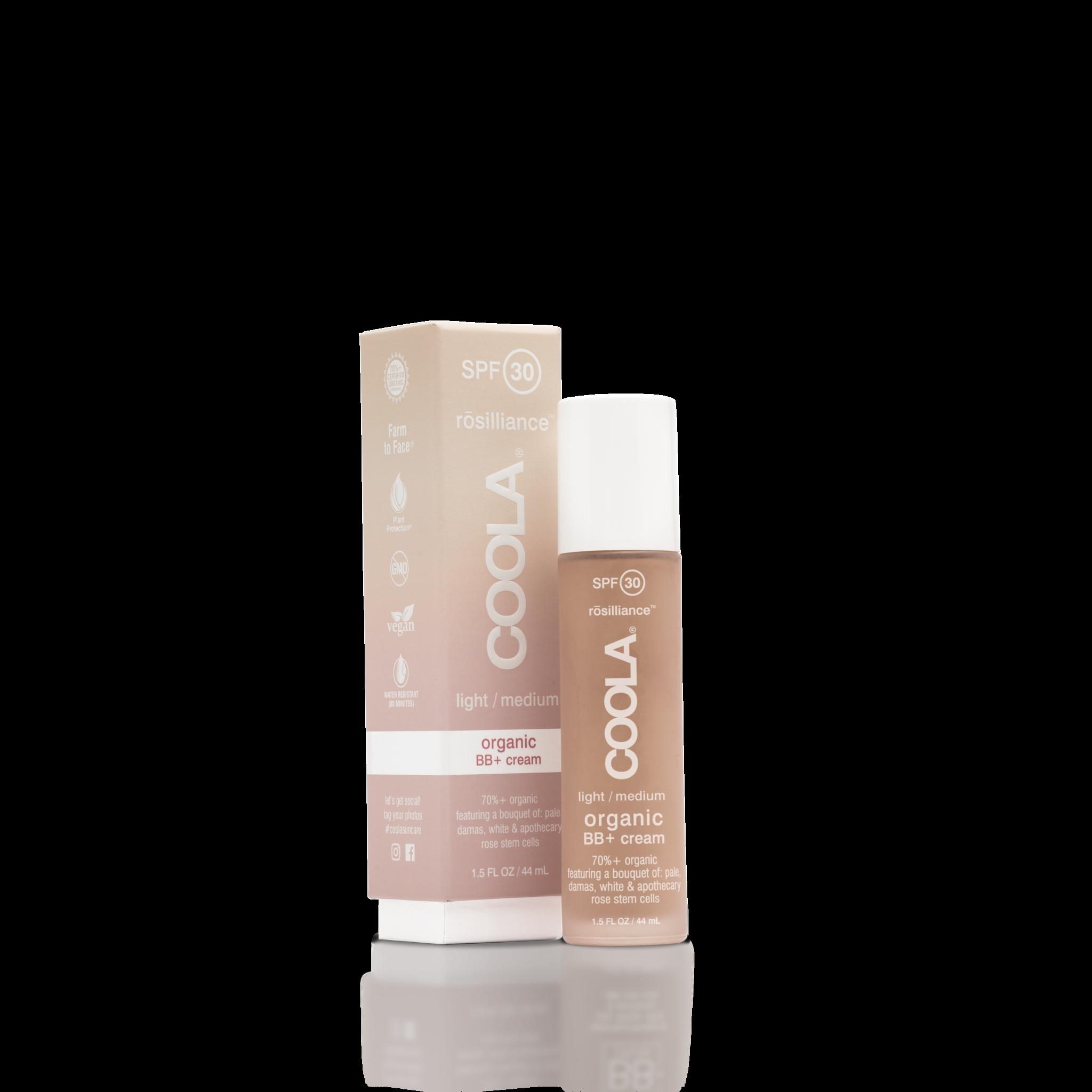 Coola COOLACOOLA Rosilliance BB+ Crème aux Minéraux FPS30 – Clair/Moyen