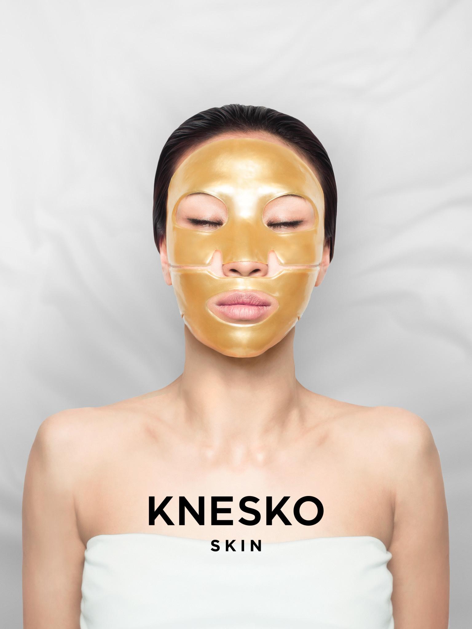 Knesko KNESKO SKIN: Masque Visage Réparation Nano'or/ Nanogold