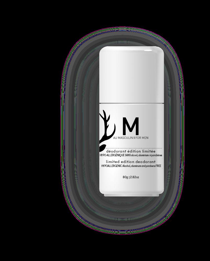 M Au Masculin M Au Masculin : Déodorant Edition Limitée