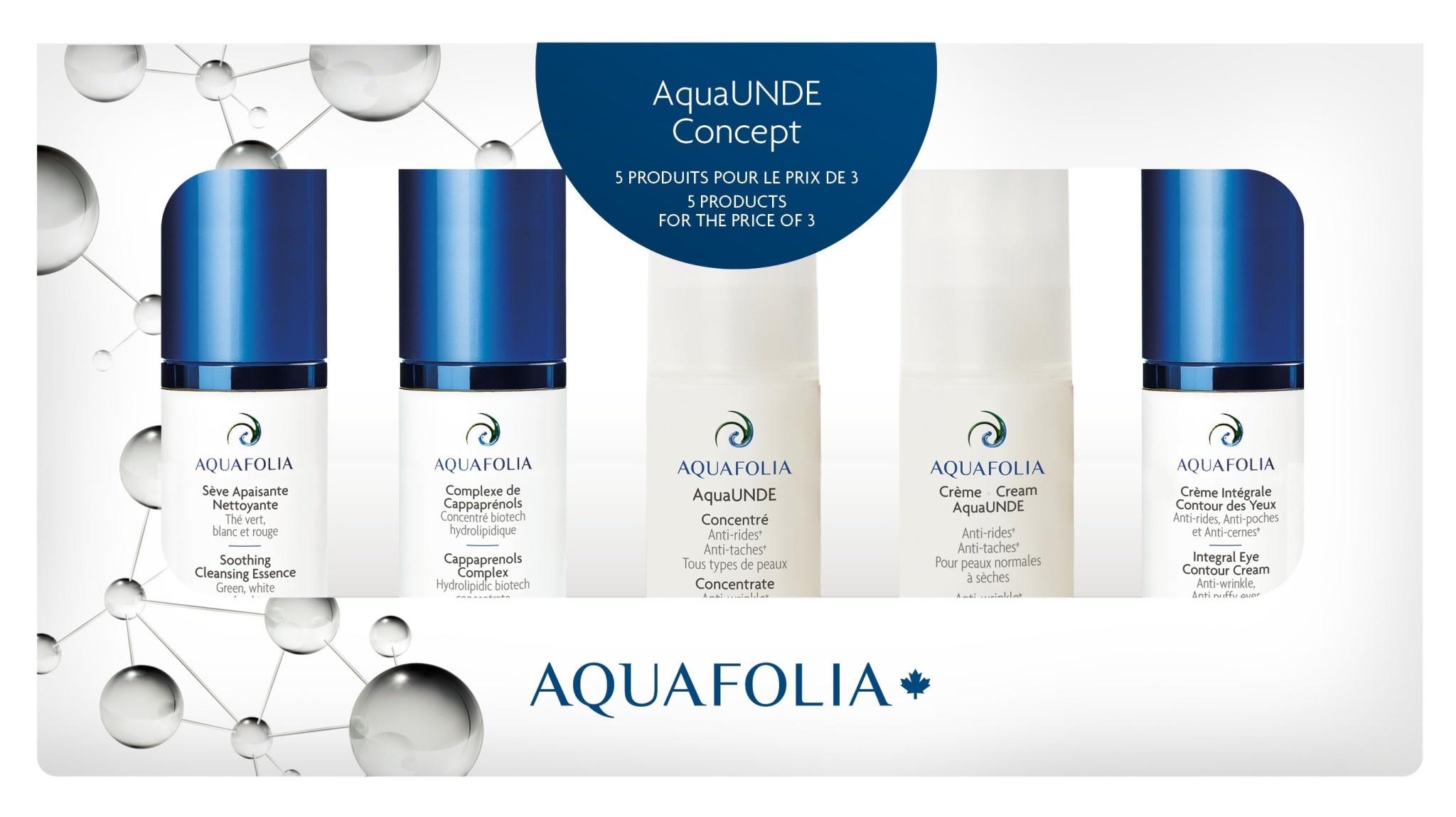 Aquafolia AQUAFOLIA: Coffret Découverte AquaUnde