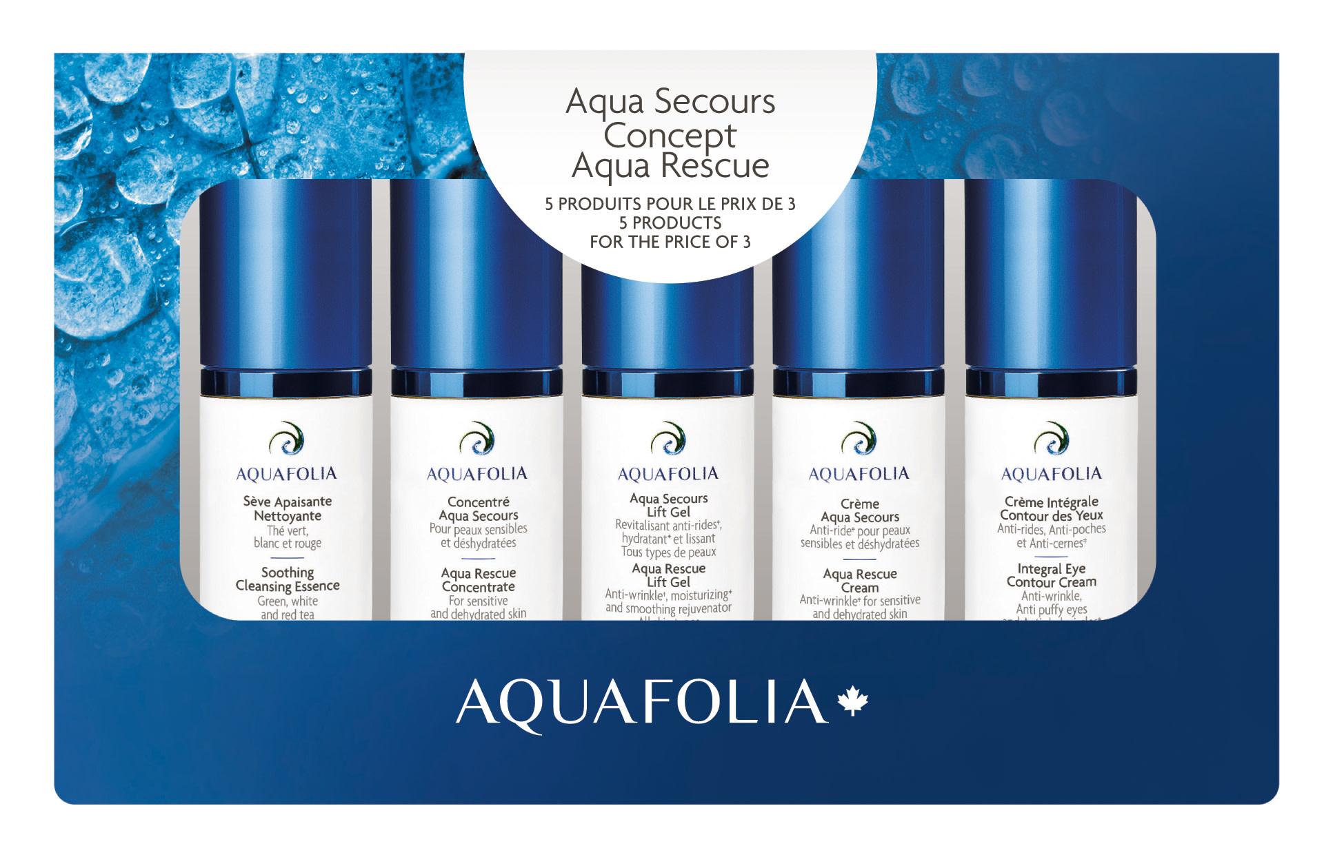 Aquafolia AQUAFOLIA Coffret Découverte AQUA SECOURS