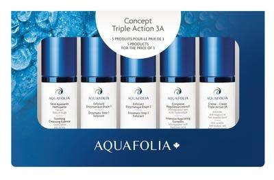 Aquafolia AQUAFOLIA Coffret Découverte Crème triple action 3A
