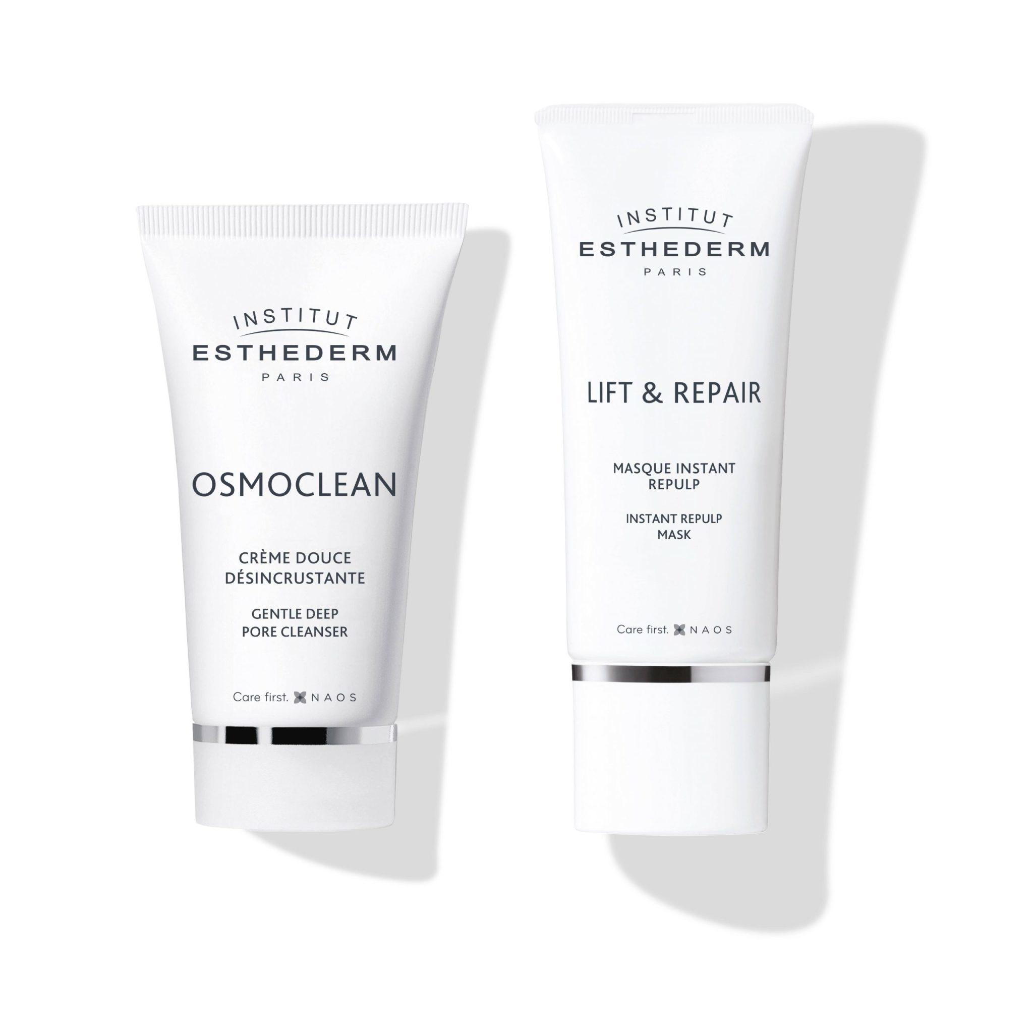 Esthederm ESTHEDERM : Routine Fermeté OSMOCLEAN Crème Désincrustante & LIFT&REPAIR Masque Repulp