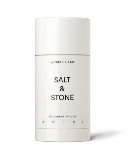 Salt & Stone SALT & STONE: Déodorant Lavande et sauge 75gr