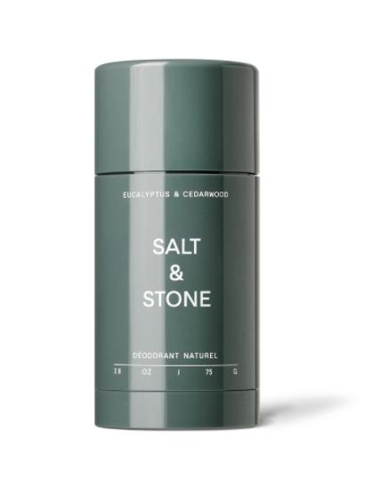 Salt & Stone SALT & STONE: Déodorant Eucalyptus et cèdre 75gr