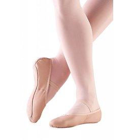 SoDanća BA14 Full sole, soft leather ballet shoe w/ drawstring PINK