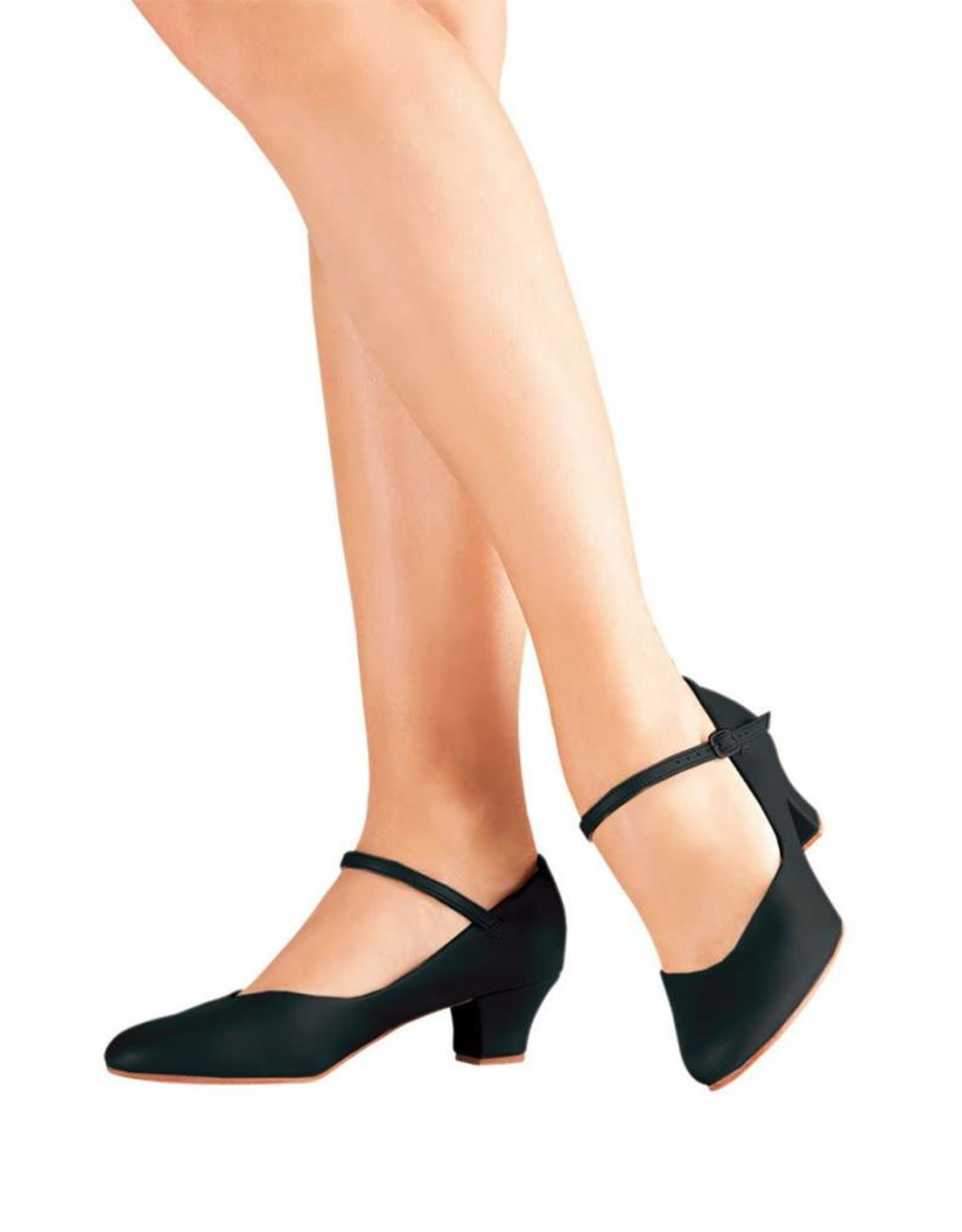"SoDanća CH50 Classic Character Shoe  BLACK 1.5"""