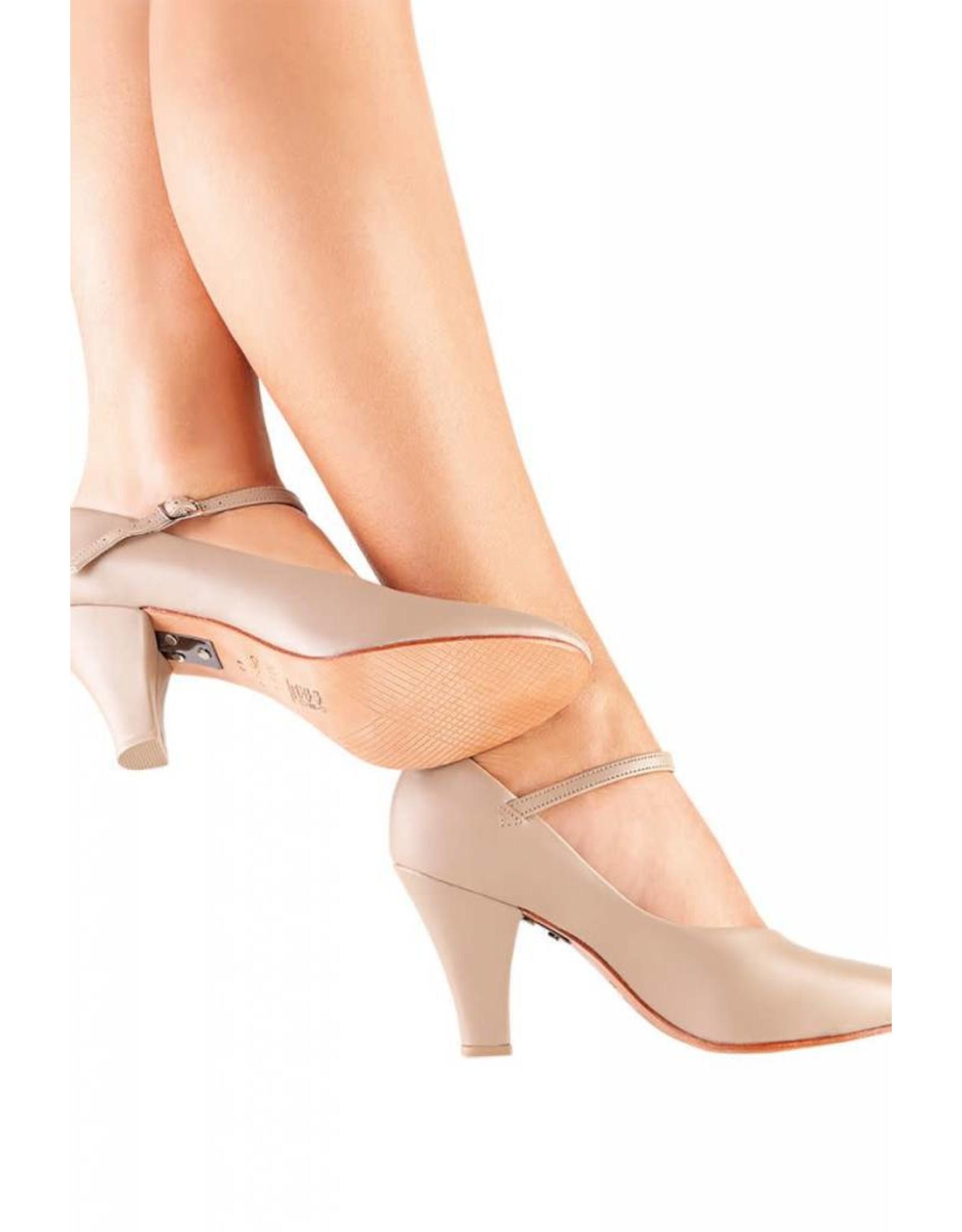 "SoDanća CH53 Character Shoes  CARAMEL 3"""