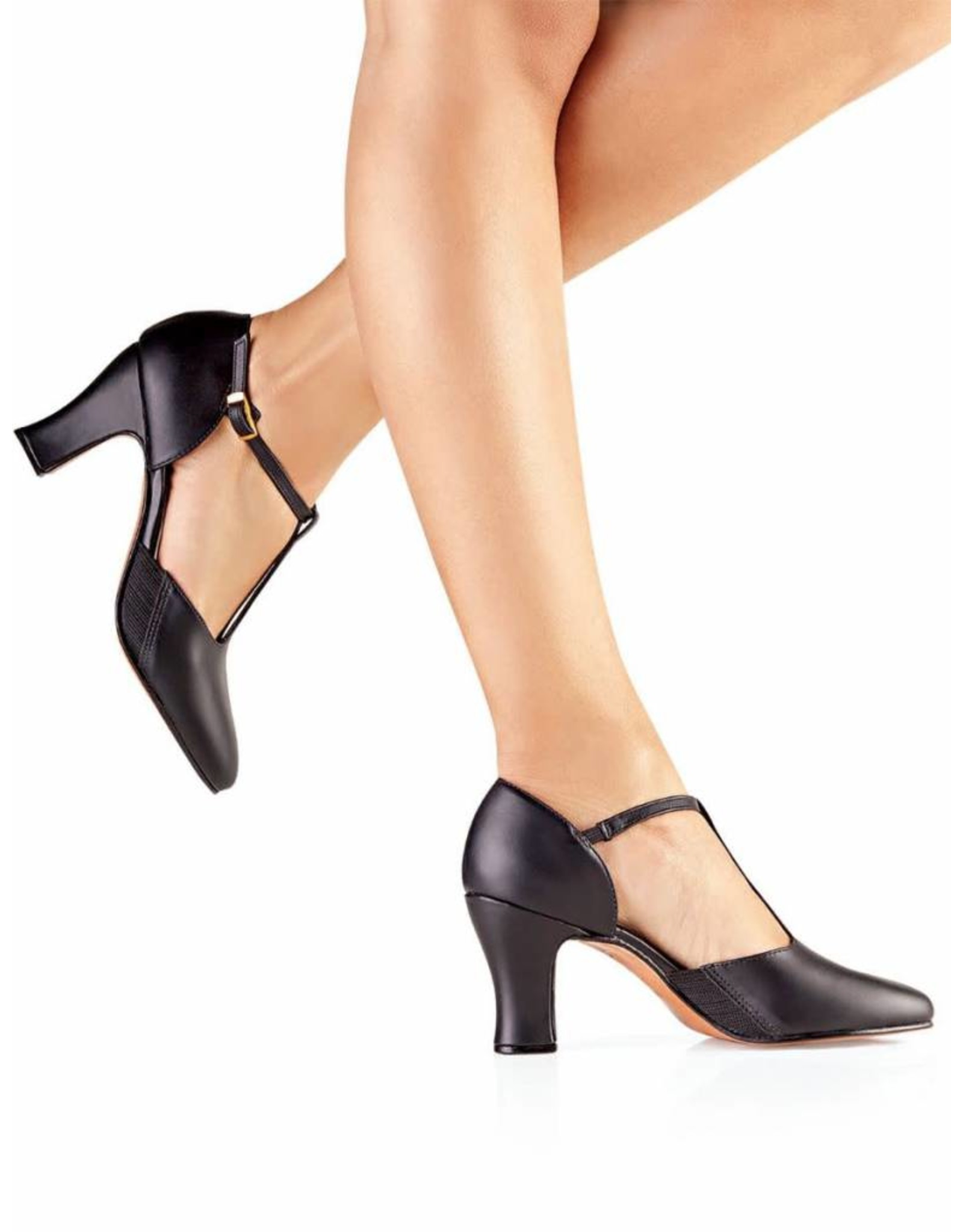 SoDanća CH56 Clarice Character Shoe  BLACK