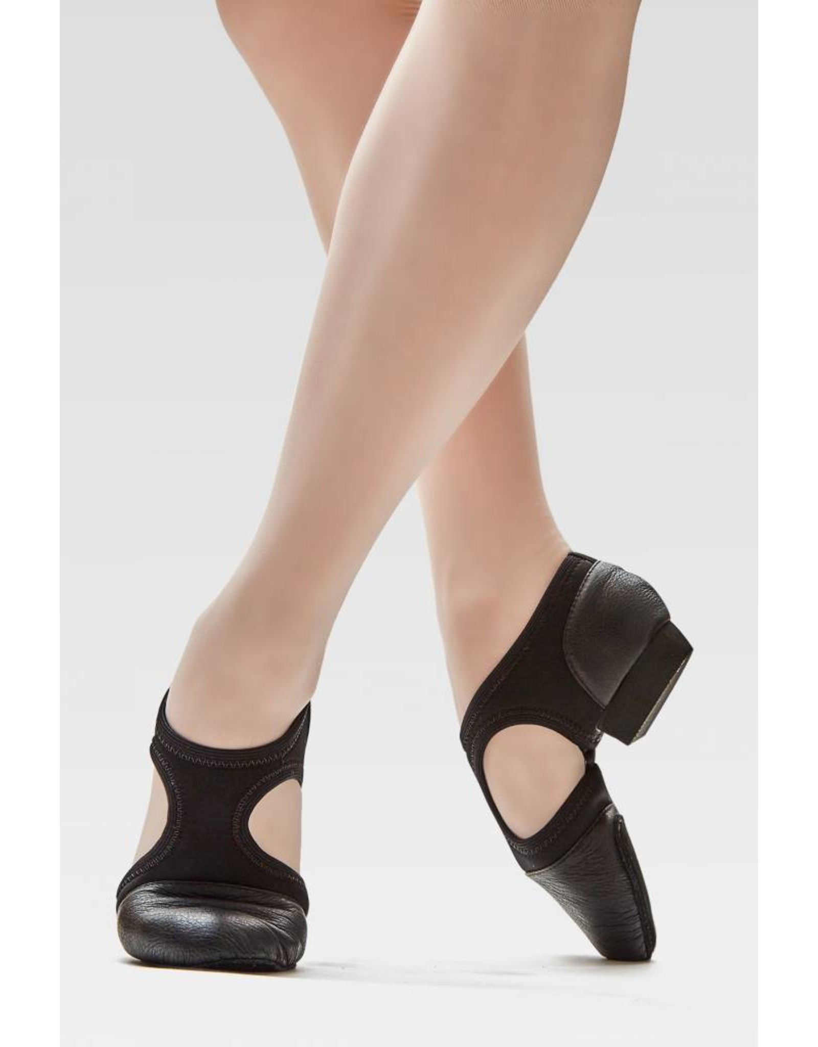 SoDanća JZ44 Pedini Jazz Shoe  BLACK