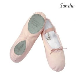 Sansha 15C Star Split Sole Canvas Ballet Slipper  PINK