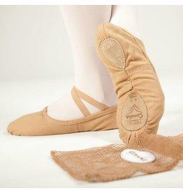 Sansha Pro1C  Split Sole Canvas Ballet Slipper  FLESH