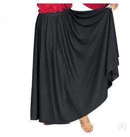 Eurotard 13778- Adult Lyrical Circle Skirt Black OSFA