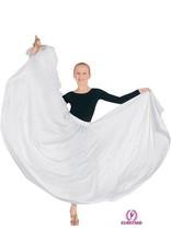 "Eurotard 13778c- Child 31"" Circle Skirt White OSFA"