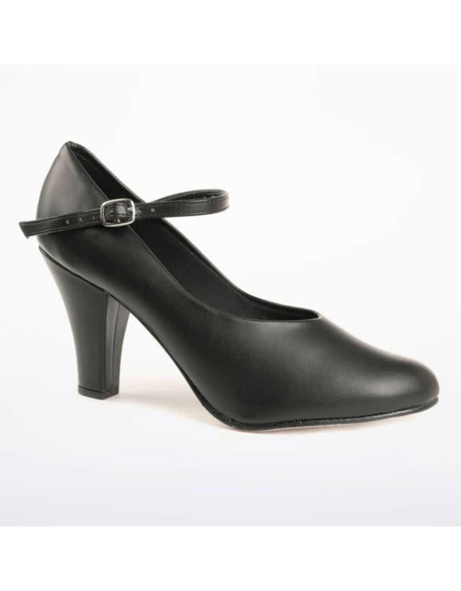 "SoDanća CH53 Character Shoes  BLACK 3"""