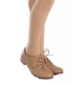 SoDanća TA05 ADULT OXFORD (LACE) Tap Shoes  CARAMEL