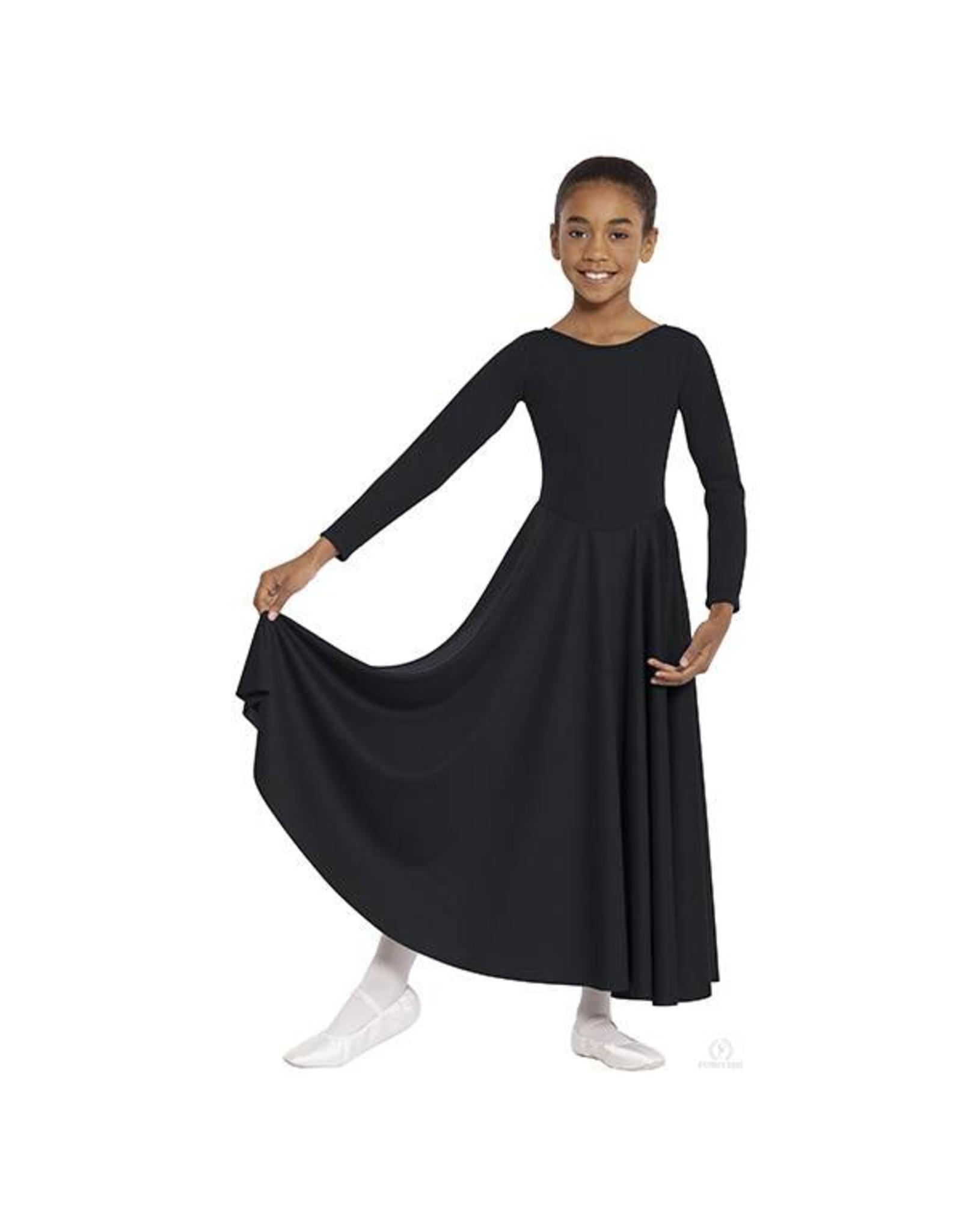 13524C CHILD LITURGICAL DRESS BLACK