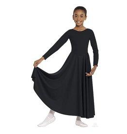 Eurotard 13524C CHILD LITURGICAL DRESS BLACK