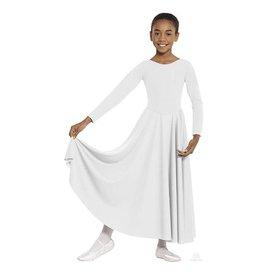13524C CHILD LITURGICAL DRESS WHITE