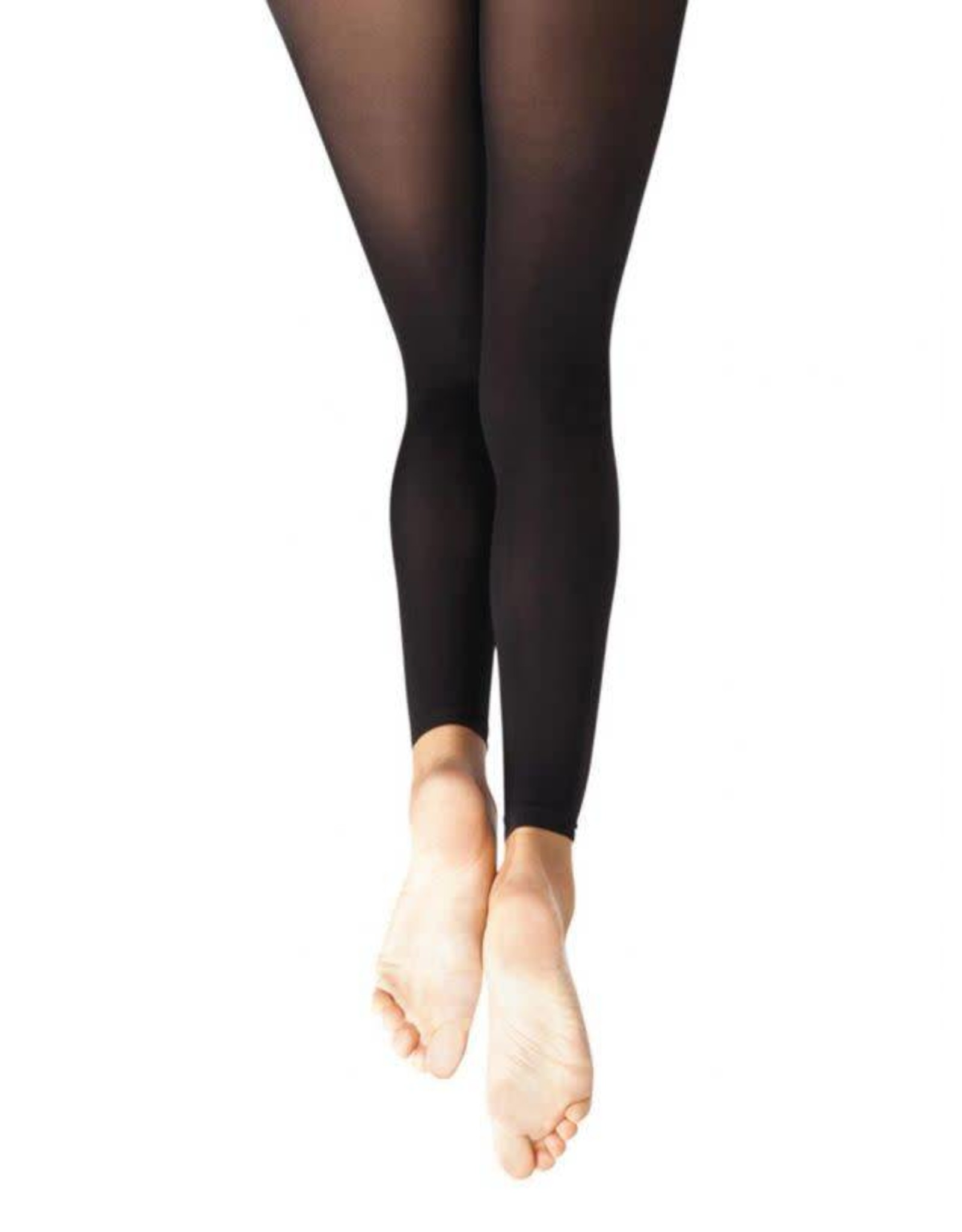 Capezio 1917 ADULT FOOTLESS TIGHT BLK