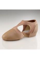 Capezio 321 Pedini Buckle Jazz Shoe TAN