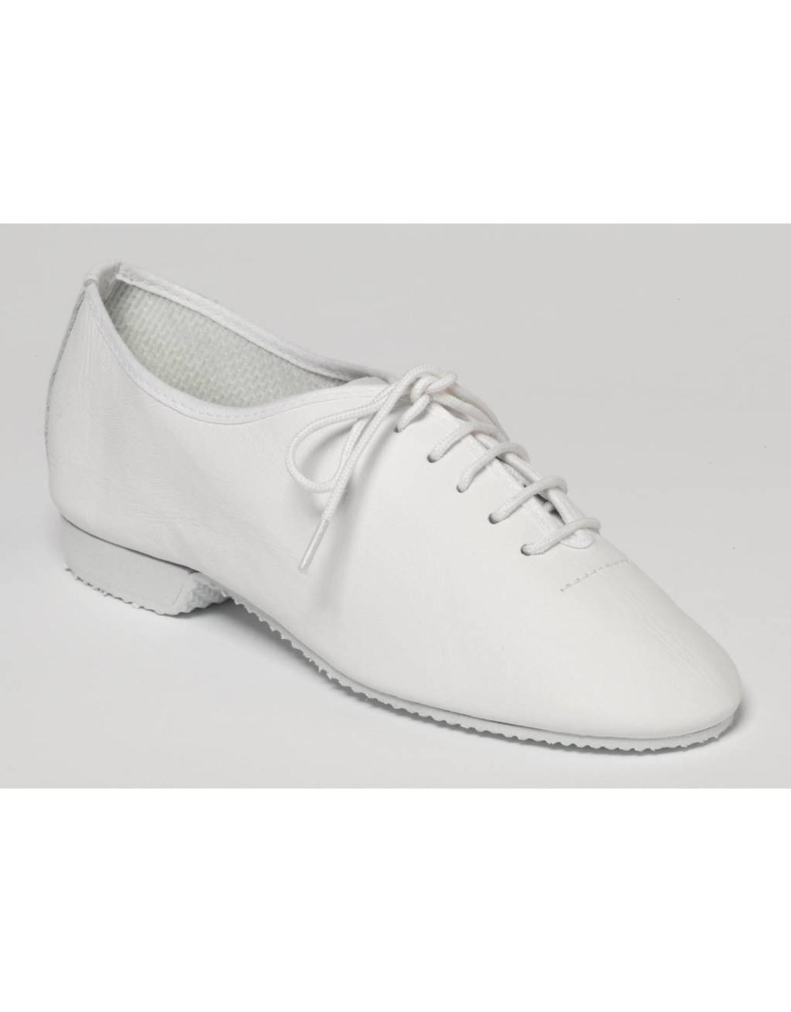 Capezio CG02 Split Sole Jazz Shoe WHITE