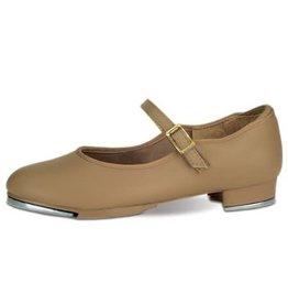 Capezio 3686 Buckle Strap w/Taps Tap Shoe TAN