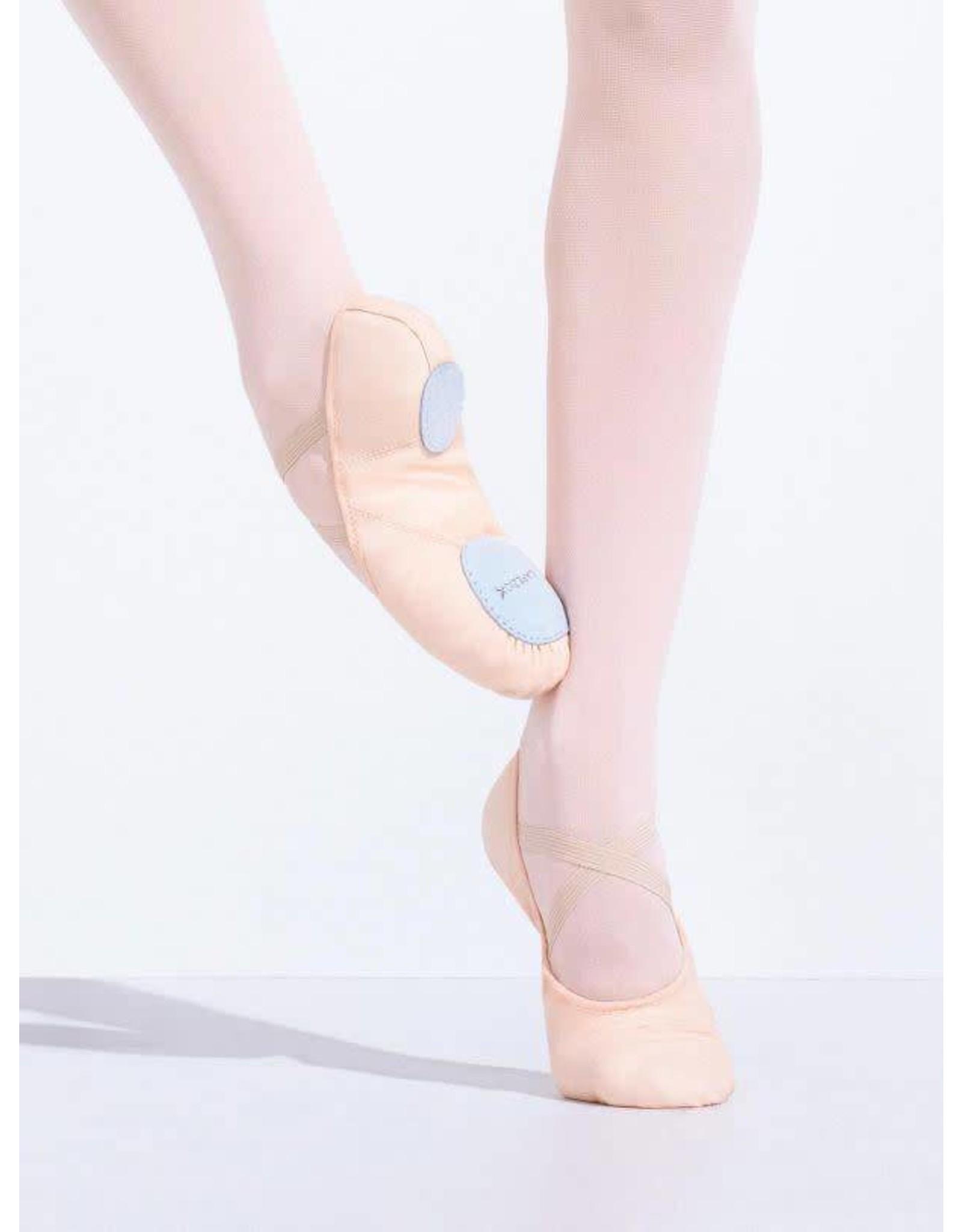 Capezio 2028 C Juliette II Canvas Ballet Slipper  LT. PINK